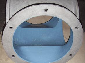 Long-term corrosion protection of the stator using Belzona materials